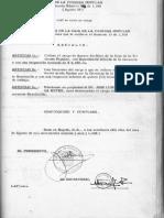 Resolución 08 de 26 Agosto de 1966