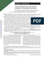Doliectasia Atherosclerosis