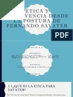 Ètica y Convivencia Desde La Postura de Fernando Savater