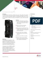 EBM D400R4 Catalog Sheet