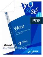 Manual de MS Word Avanzado 2013 v.03.13
