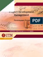 Project Financing-UTM Slide TEMPLATE BI
