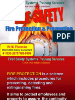 Fire Safety - Fire PreventionTraining