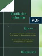 Mecanismo de Ventilacion