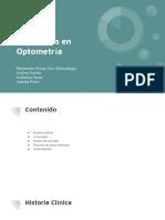Exposición Anamnesis Optometria