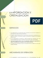 EVAPORIZACION Y CRISTALIZACION.pptx