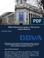 Danilo Alfonso Manglano - BBVA Momentum ayuda a 100 nuevos emprendedores