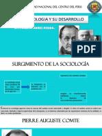 Desarrollo de La Sociologia