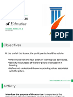 4 Pillars of Education Doc RRP