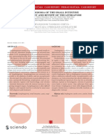 [Serbian Journal of Experimental and Clinical Research] Lymphangioma of the Small Intestine Case Report and Review of the Literature