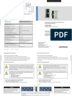 Janitza LCAN RS45 Adapter de En