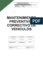 ITM-SIG-PETS 201 Mantenimiento Preventivo Correctivo de Vehiculos