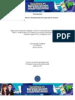 Evidencia 1Bitácora Documentación de la operación de comercio