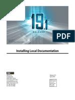 Installing Local Documentation