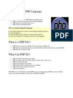 Introduction to PHP Language.docx