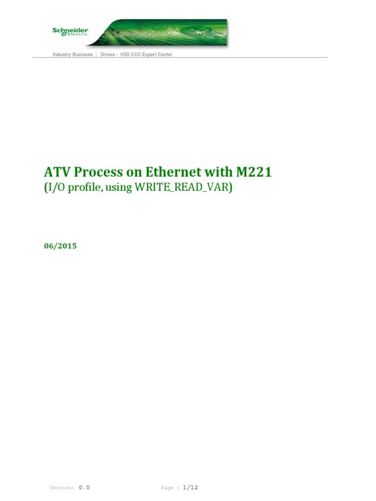 ATV630 Eth_M221 | Internet Protocol Suite | Computer Network