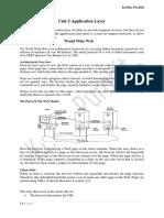 Unit 5 Application Layer