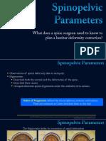 Spinopelvic Parameters