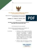 Regulation of Minister EF_Number16_year of 2017