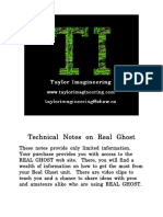 Real Ghost - Technical Notes