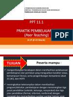 PPT_11.1_PRAKTIK PEMBELAJARAN_PEER TEACHING_9 JANUARI 2018.pptx