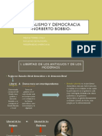 Liberalismo y Democracia- Presentación