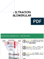 Clase 3 Filtracion Glomerular Medicina 2017