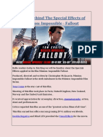 Secret Behind The Special Effects of Mission Impossible Fallout