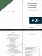 Pfeffer - Nuevos Rumbos de la Teoría de la Org (Libro Completo).pdf