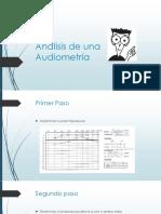 Analisis de Una Audiometria