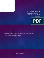 competency ppt for feild