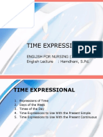 Time Expressional