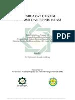 Tafsir ayat hukum ekonomi dan bisnis Islam.pdf