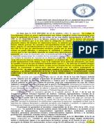 Recaudos de Ley y El Principio de Gratuidad en La Administración de Justicia. 48.18