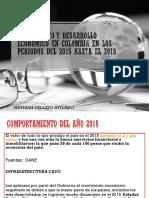 Crecimiento y Desarrollo Economico en Colombia en Los