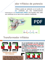 SEMANA 11 Transformadores Trifásicos de Potencia