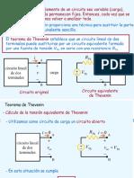 Teoremas de Thevenin, Norton, Superposicion