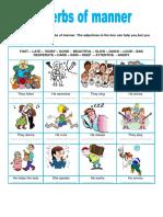 Adverbs of Manner Fun Activities Games Grammar Drills Icebreakers on 91302