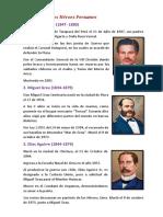 Biografía de Los Héroes Peruanos