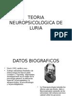 Clase S.xxi Teoria Neuropsicologica de Luria