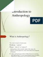 Anthropology (Hsa)