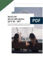 [Đoán + giải đề] [Quý III - 2017] SPEAKING.pdf