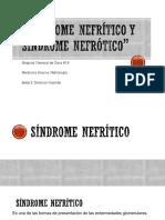 Sx Nefrotico y Nefritico Para Proyectar