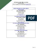Executive Committee 2008-09 Web
