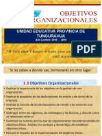Aa Ge1.3. Objetivos Organizacionales