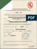 1- Certificado Defensa Civil