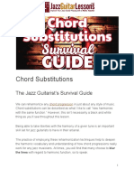 Chord Substitutions Survival Guide PDF