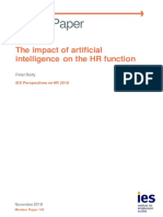 Mp142 the Impact of Artificial Intelligence on the HR Function-Peter Reilly