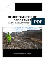 Informe Orcopampa
