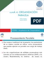03306-Tema 4. Organización Paralela